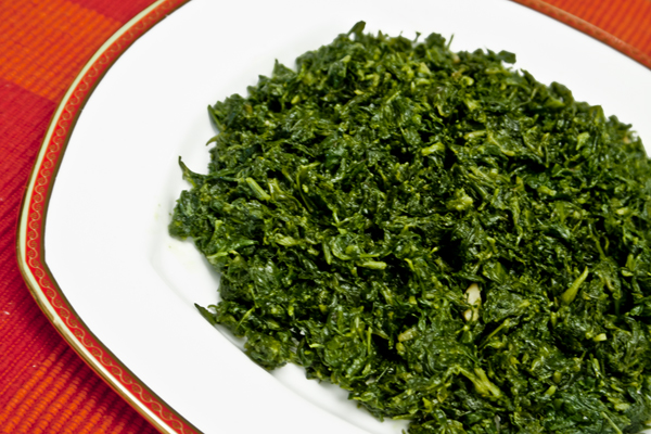 Soya Methi and Spinach Saag